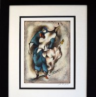 Tango Rehearsal 2003 Limited Edition Print by David Schluss - 1