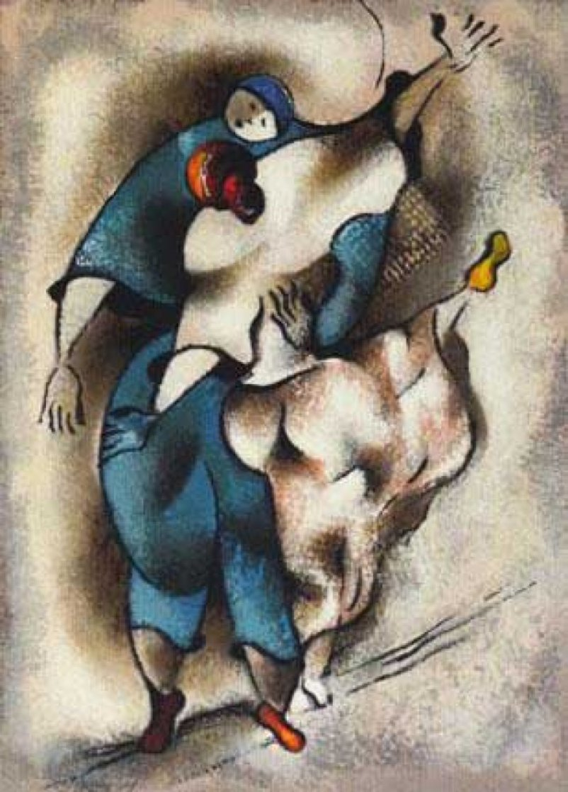 Tango Rehearsal 2003 Limited Edition Print by David Schluss