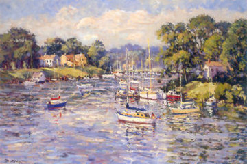 Annapolis Harbor PP Limited Edition Print - Bill Schmidt