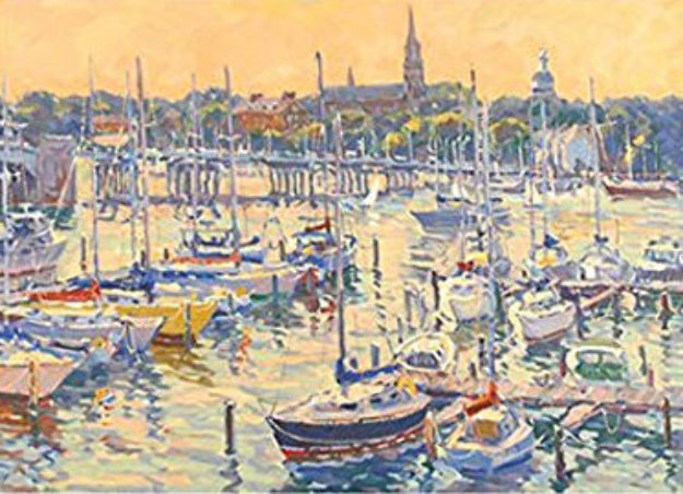 Annapolis Sunset PP Limited Edition Print by Bill Schmidt