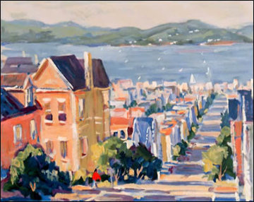 Bayview Place PP Limited Edition Print - Bill Schmidt