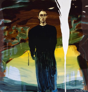 Jose Luis Ferrer; Nemo Librizzi; Xavier Mascaro from Portrait series (Suite of 3) 1998 Limited Edition Print - Julian Schnabel