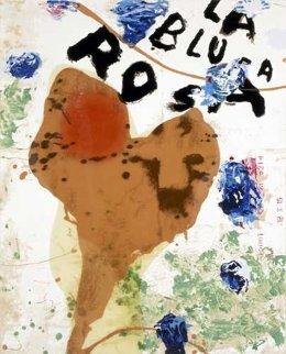 La Blusa Rosa I 1995 Limited Edition Print - Julian Schnabel