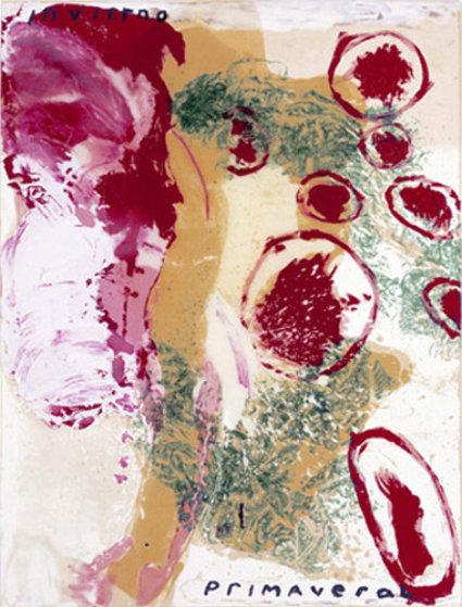 Invierno 1995 Limited Edition Print by Julian Schnabel