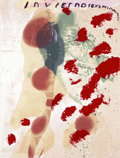 Inviernosexoprimaveral 1995 Limited Edition Print by Julian Schnabel