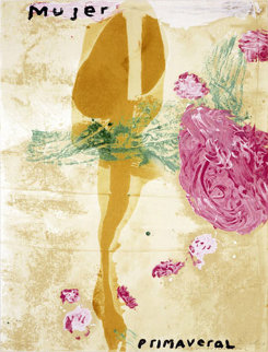 Mujer 1995 40x30 Limited Edition Print by Julian Schnabel