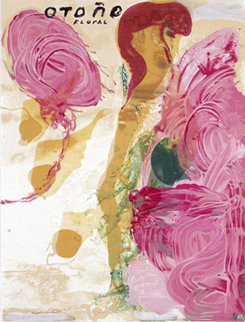 Otono 1995 Limited Edition Print - Julian Schnabel