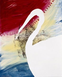 View of Dawn From the Tropics- Roy 1998 Limited Edition Print by Julian Schnabel