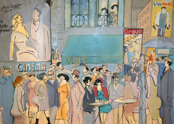 Cafe Dom 1987 Limited Edition Print - David Schneuer