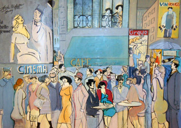 Cafe Dom 1987 Limited Edition Print by David Schneuer