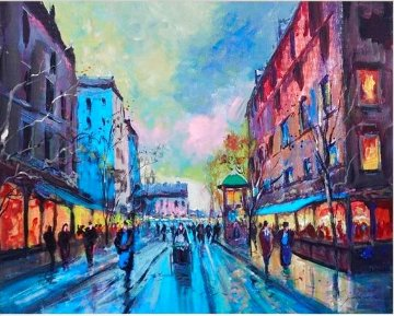 Paris  AP 2014  Embellished Limited Edition Print - Michael Schofield