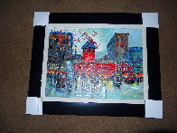 Paris Moulin Rouge AP 2019 Embellished   Limited Edition Print by Michael Schofield - 1