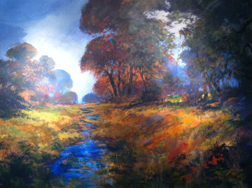 Autumn Splendor Original Painting by Michael Schofield