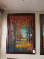 Untitled Landscape 2013 40x26 Original Painting by Michael Schofield - 1