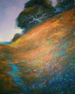 Hillside Landscape 30x24 Original Painting by Michael Schofield