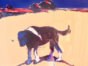 Reservation Dog Limited Edition Print - Fritz Scholder