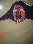 Screaming Indian Limited Edition Print - Fritz Scholder