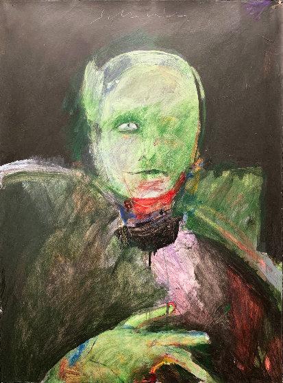 Grimnir 1991 43x35 Original Painting by Fritz Scholder