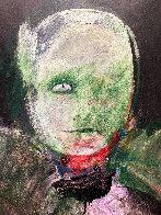 Grimnir 1991 43x35 Original Painting by Fritz Scholder - 3