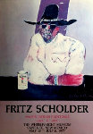 Indian - Enjoying Coors Poster 1977 HS Limited Edition Print - Fritz Scholder