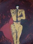Portrait of a Matador Limited Edition Print - Fritz Scholder