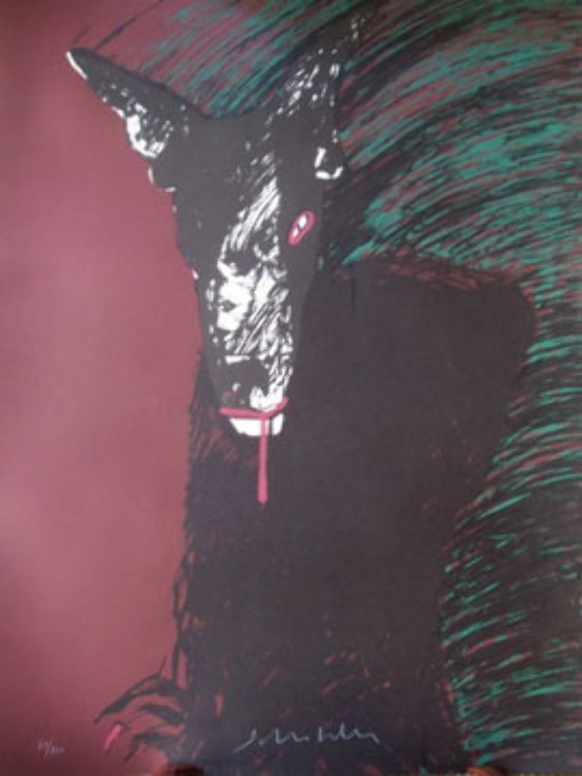 Portrait of a Werewolf Limited Edition Print by Fritz Scholder