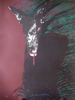 Portrait of a Werewolf Limited Edition Print by Fritz Scholder