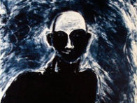 Blue Portrait 1991 Limited Edition Print by Fritz Scholder - 2