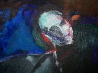 Possession with Broken Wing 1989 30x40 Huge Original Painting by Fritz Scholder - 1