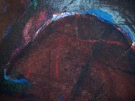 Possession with Broken Wing 1989 30x40 Huge Original Painting by Fritz Scholder - 4