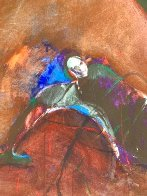 Possession with Broken Wing 1989 30x40 Huge Original Painting by Fritz Scholder - 10