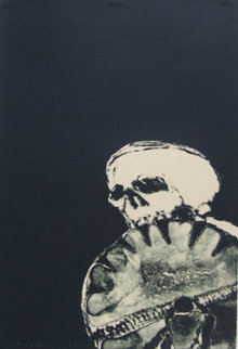 Anpao Deather 1976 Limited Edition Print by Fritz Scholder