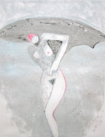 Lilith 1 (From the Lilith Series) Monotype 1992 41x30 Works on Paper (not prints) by Fritz Scholder - 1