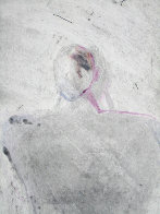 Entity Series #1 Monotype 1986 41x30 Works on Paper (not prints) by Fritz Scholder - 1