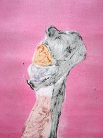 Monster Love Series, #1 Monotype 1986 30x22 Works on Paper (not prints) by Fritz Scholder - 0