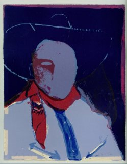 Another Matinee Cowboy 1984 Limited Edition Print - Fritz Scholder