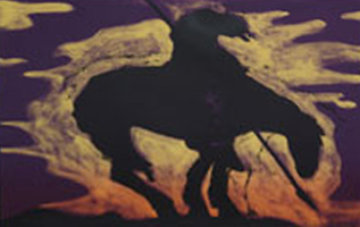 Indian Cliche 1981 Limited Edition Print by Fritz Scholder