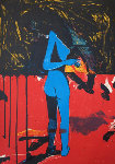 Woman in Nature AP 1991 Limited Edition Print - Fritz Scholder