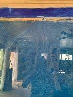 Window #1 Original 1988 40x30 Super Huge Original Painting by Fritz Scholder - 4