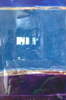 Window #1 Original 1988 40x30 Super Huge Original Painting by Fritz Scholder - 5