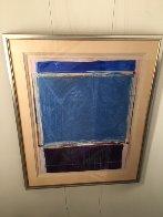 Window #1 Original 1988 40x30 Super Huge Original Painting by Fritz Scholder - 2