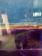 Window #1 Original 1988 40x30 Super Huge Original Painting by Fritz Scholder - 7