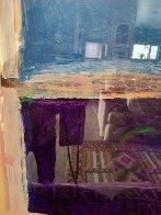 Window #1 Original 1988 40x30 Super Huge Original Painting by Fritz Scholder - 6