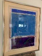 Window #1 Original 1988 40x30 Super Huge Original Painting by Fritz Scholder - 1