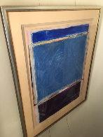 Window #1 Original 1988 40x30 Super Huge Original Painting by Fritz Scholder - 3