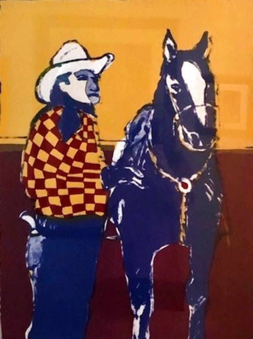Another Matinee Cowboy 1984 Limited Edition Print by Fritz Scholder