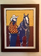 Another Matinee Cowboy 1984 Limited Edition Print by Fritz Scholder - 1