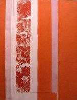 Untitled (Suite of 2 paintings) 67x104 Super Huge Mural Original Painting by Toti Scialoja - 1