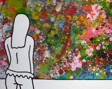 Orgasmic 2009 39x78 Super Huge Original Painting - Richard Scott