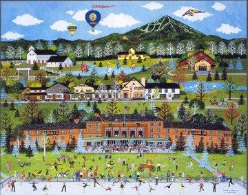 Sun Valley Celebration 1986 Limited Edition Print - Jane Wooster Scott